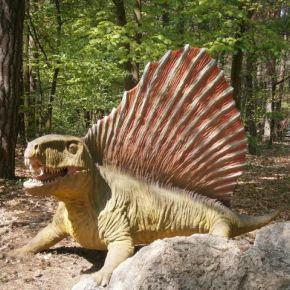 Парк динозавров в Польше