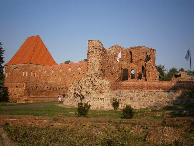 Торунь, Руины замка