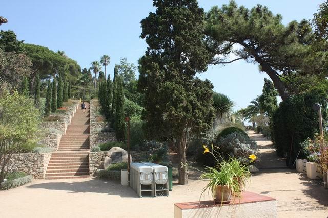 Marimurtra лестница в парке