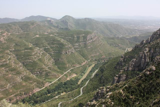 Santa Cova панорама окрестностей