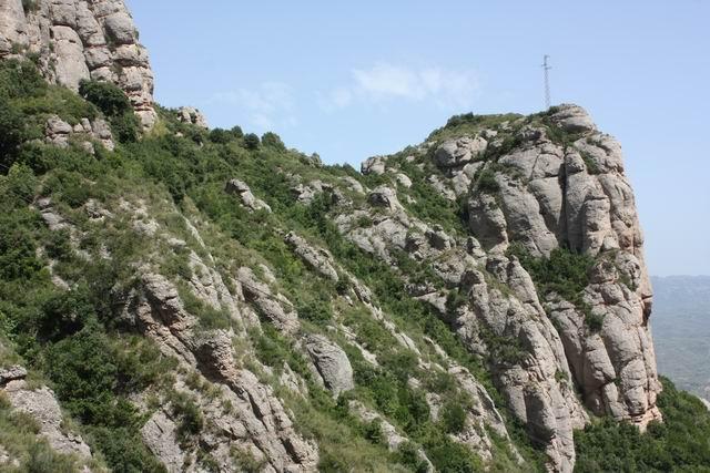 Santa Cova вид на горы