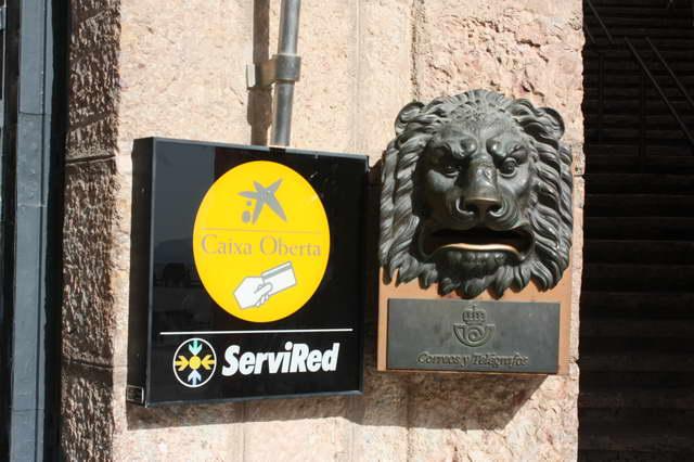 почтовый ящик в виде головы льва