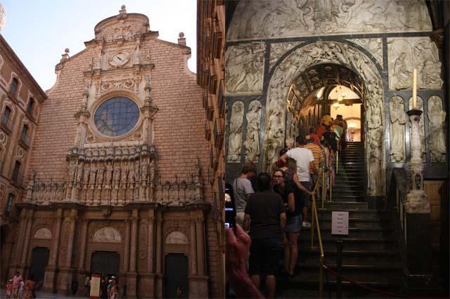 собор фасад и лестница