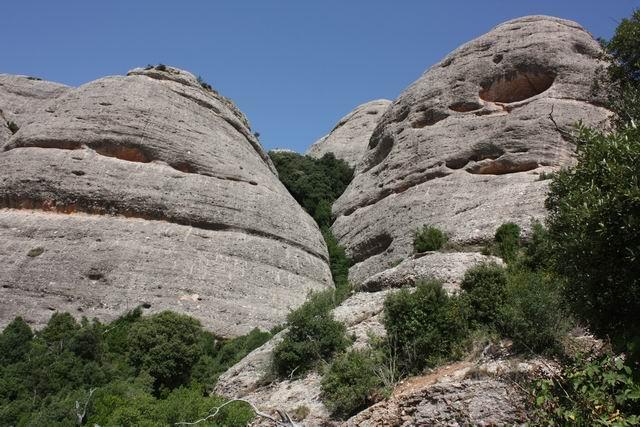 Монсеррат. Sant Joan вид на горы