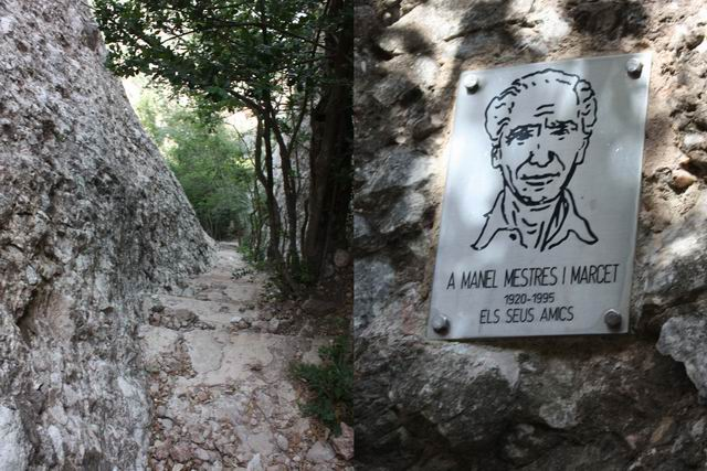 Sant Joan спуск к монастырю