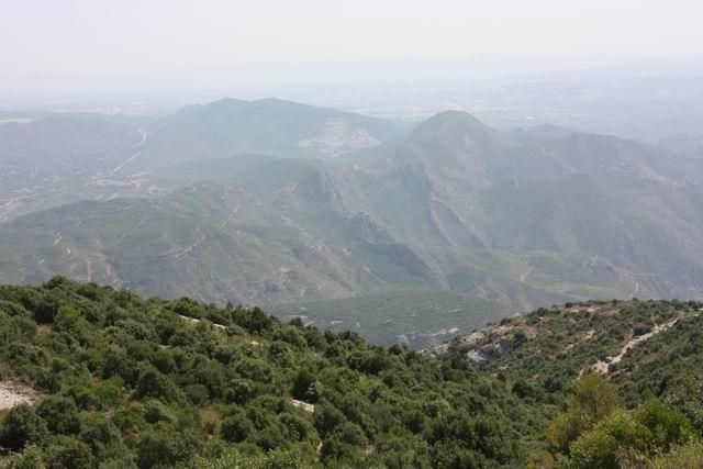Sant Joan левый маршрут горы