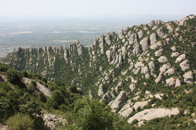 Sant Joan левый маршрут пейзаж
