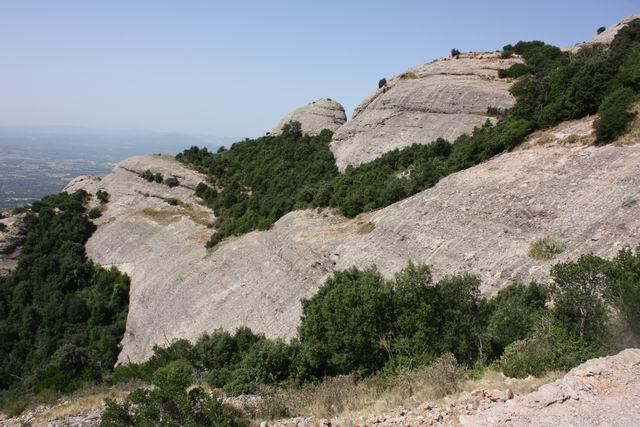 Монсеррат горный пейзаж