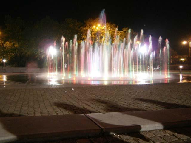 Торунь, Музыкальный фонтан