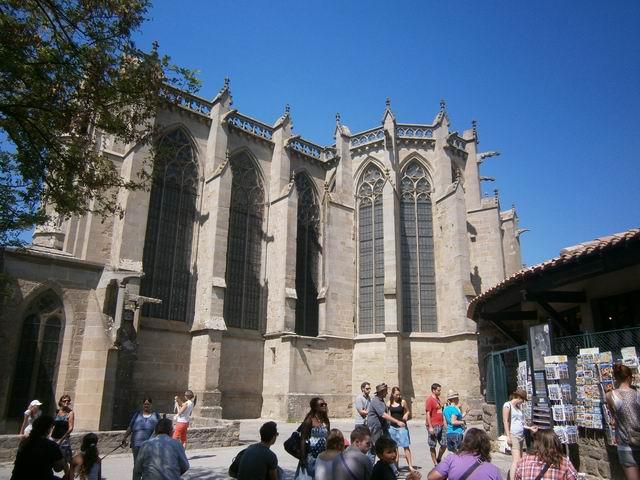 Каркассон базилика св. Назария и Цельсия