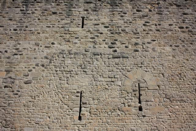 Каркассон стена
