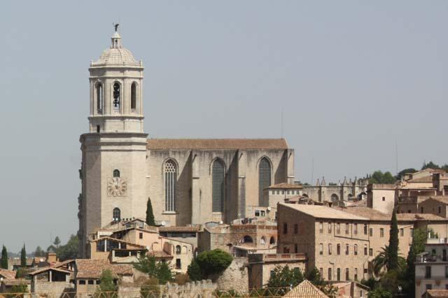 Жирона кафедральный собор панорама