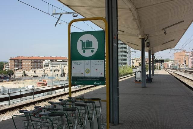 Жирона платформа вокзала