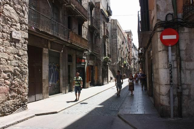 Жирона улица города