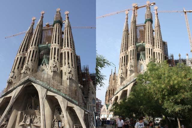 Sagrada Familia общий вид