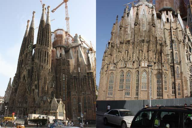 Sagrada Familia фасад