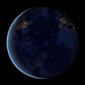 Видео Земли из космоса