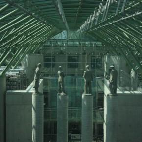 Библиотека Варшавского университета — смотровая площадка