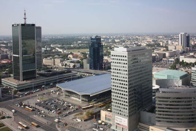 Варшава вокзал Warszawa Centralna