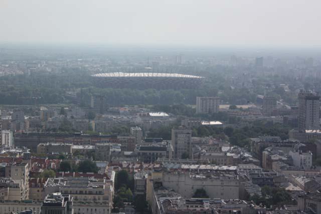 Варшава вид на стадион PGE Arena