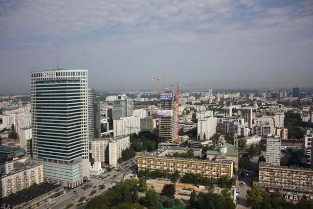 Варшава смотровая площадка