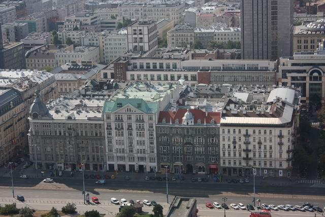 Варшава красивый вид на город