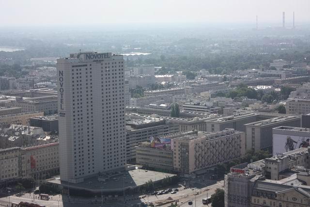 Варшава гостиница Novotel