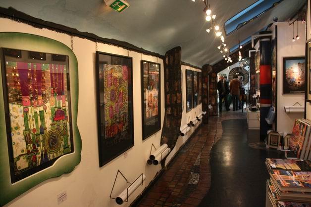 Деревня Хундертвассера галерея