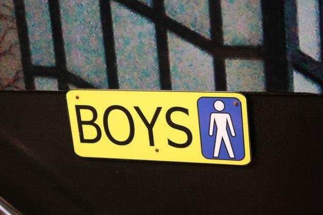 Деревня Хундертвассера мужской туалет