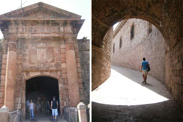 Барселона Крепость Монжуик вход
