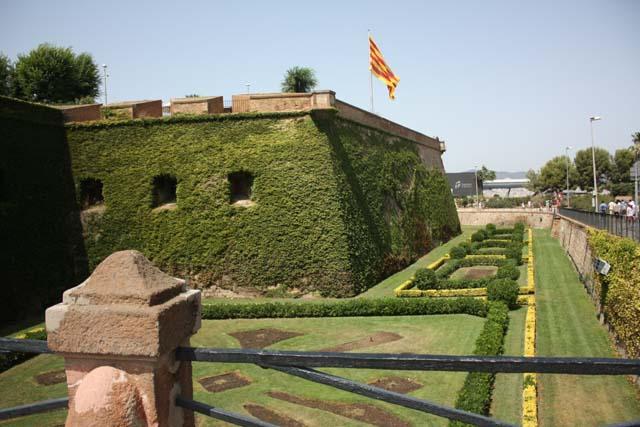 Барселона крепость Монжуик