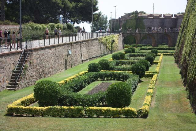 Барселона Крепость Монжуик парк