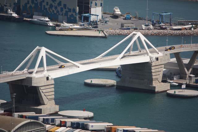 Монжуик вид на порт