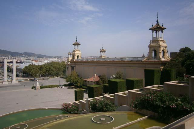 Барселона Национальный дворец вид