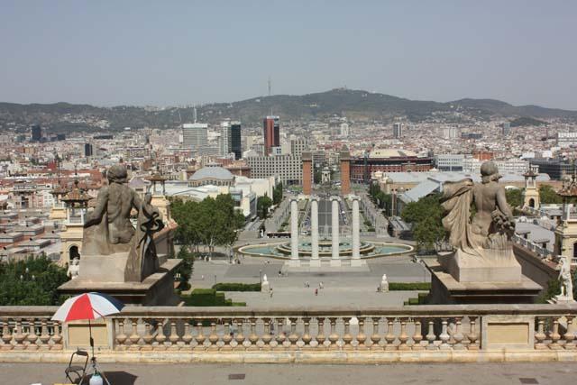 Барселона Национальный дворец смотровая площадка