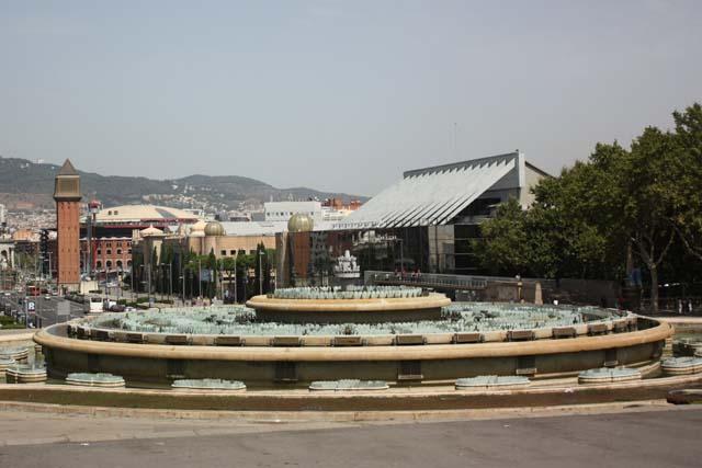 Барселона Национальный дворец фонтан