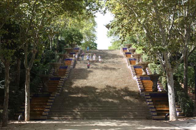 Барселона Национальный дворец лестница