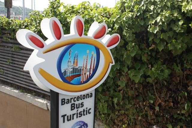 Барселона Бас Туристик остановка