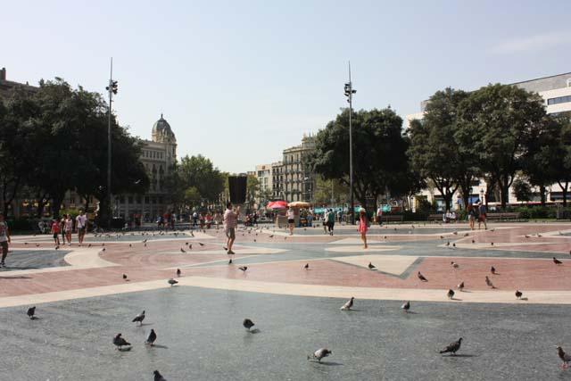 Барселона Площадь Каталонии