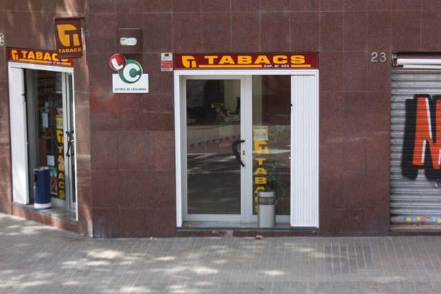 Барселона табачная лавка