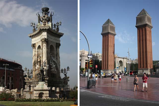 Барселона Площадь Испании