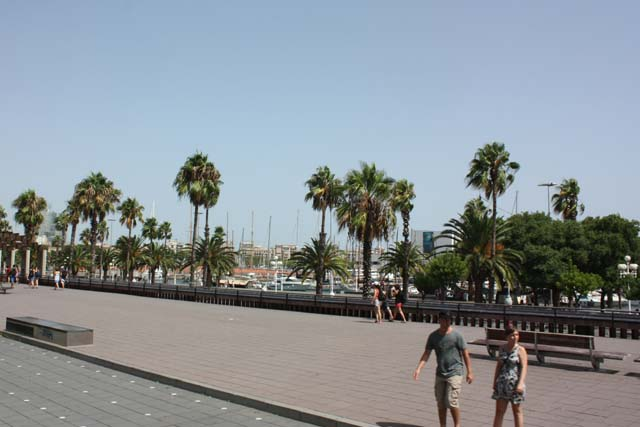 Барселона набережная