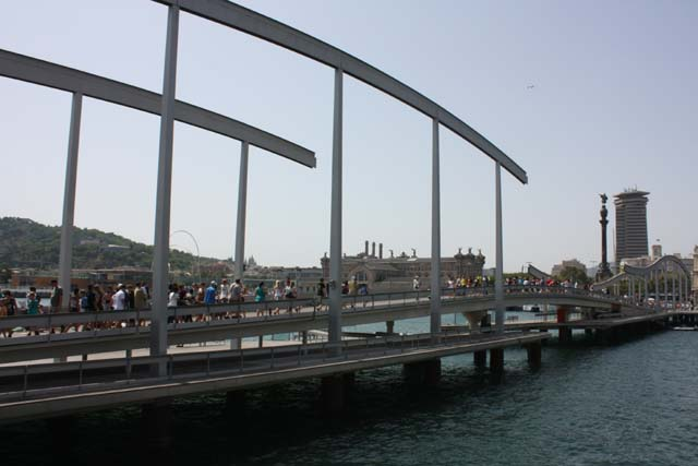 Барселона порт разводной мост