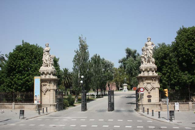 Барселона парк Цитадели вход