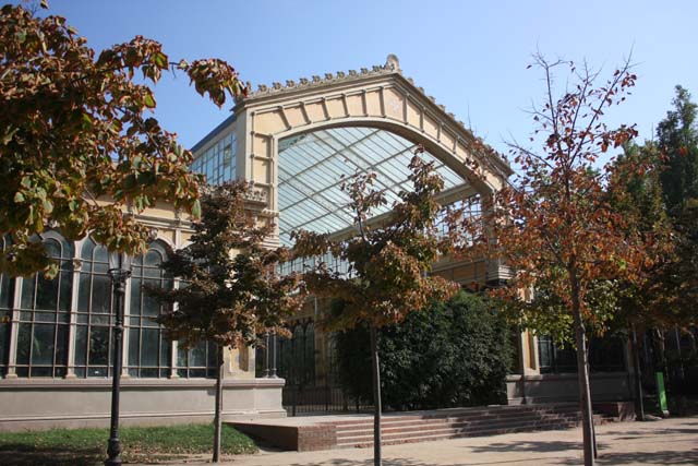 парк Цитадели павильон