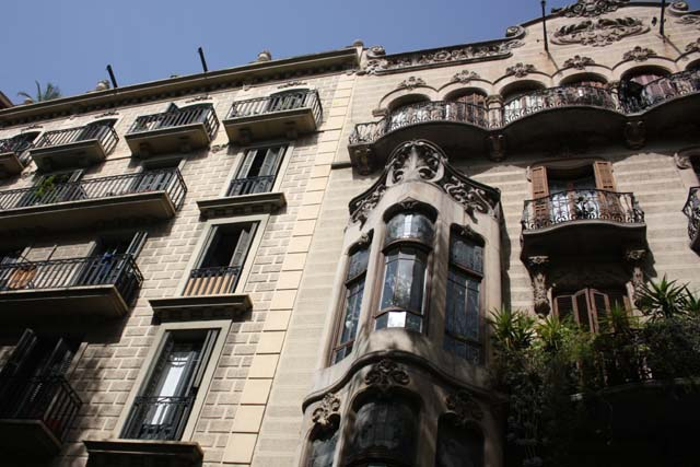 Барселона красивый балкон