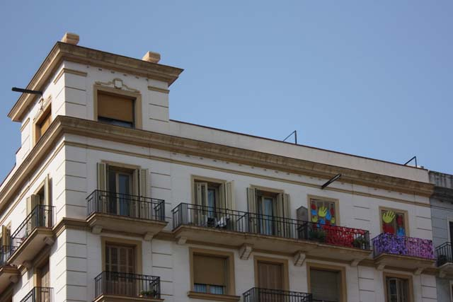Барселона крыша дома