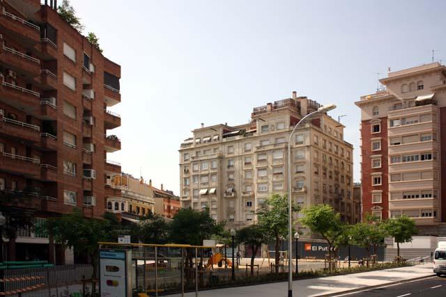 Барселона жилой район