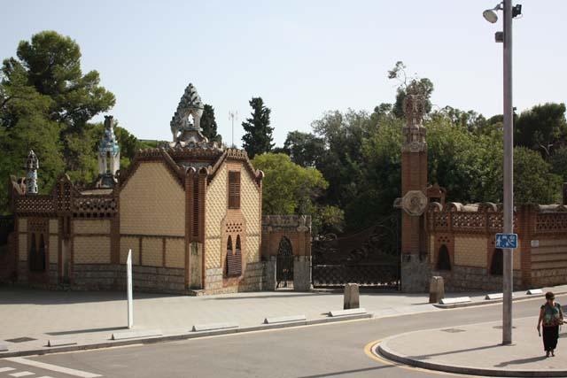 павильон Гуэль в Педральбес