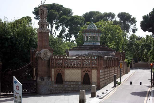 Барселона Павильон Гуэль
